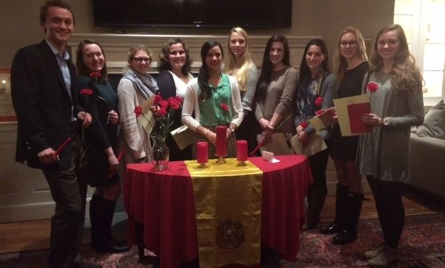 A photo of the 2016 SDP initiation