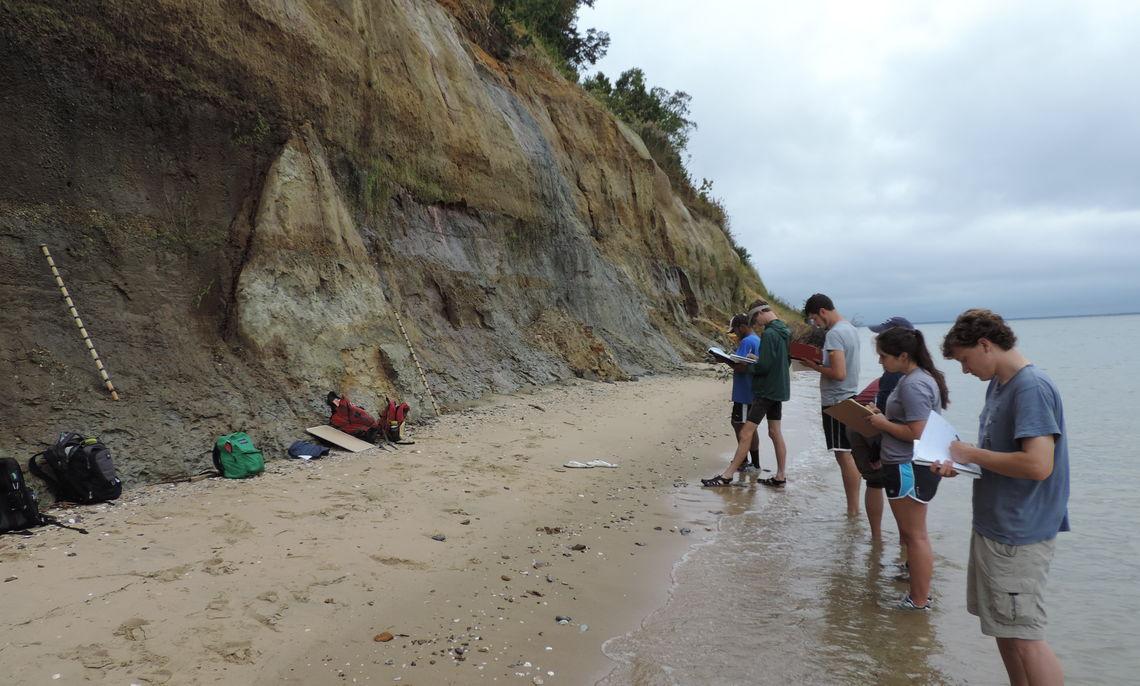 Conservation Paleobiology Weekend Fieldtrip