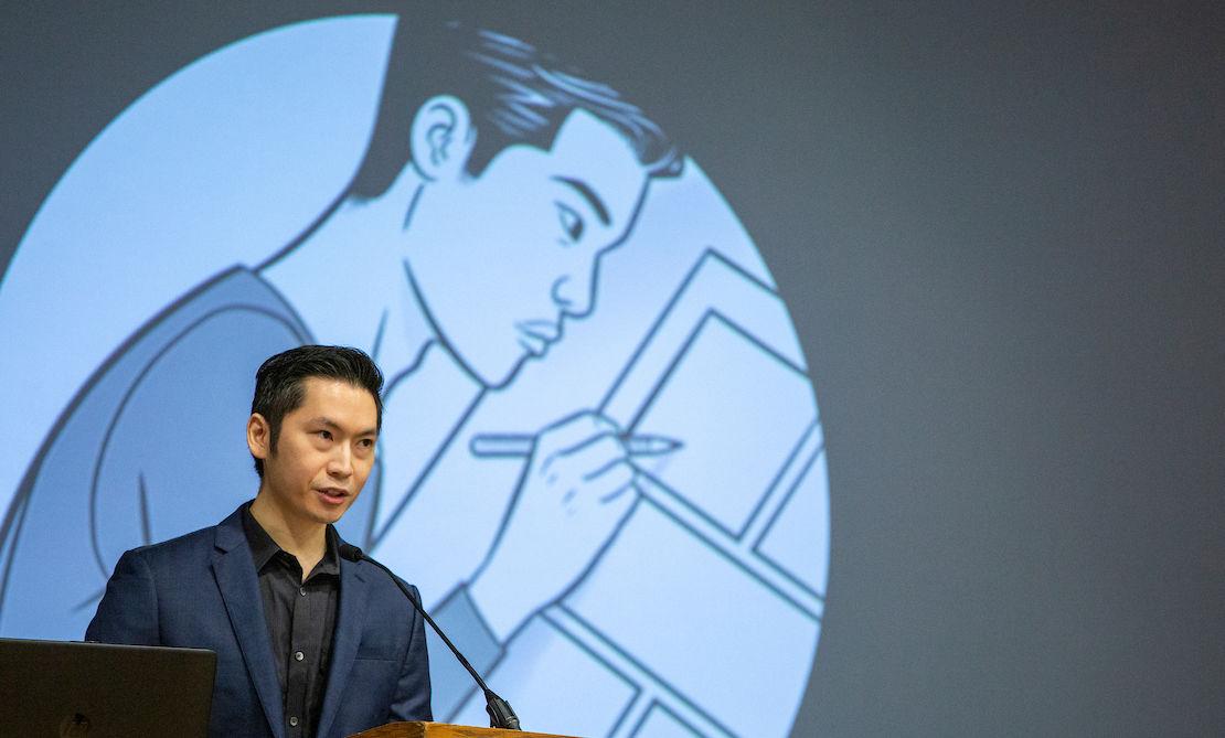 Comic-book creator Joshua Luna, a Filipino-American, discusses how his life experiences influences his art and writing.