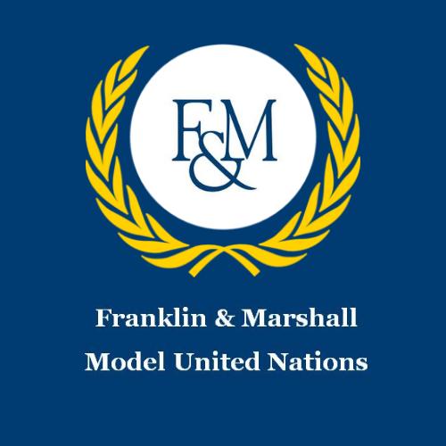 Logo of F&M Model United Nations