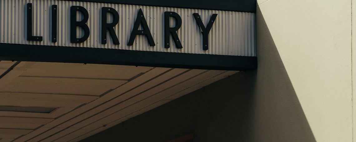 library building photograph