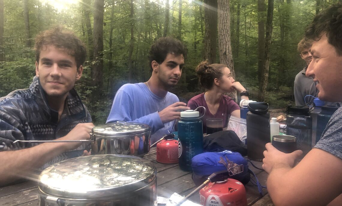 First-Year Outdoor Orientation Trip