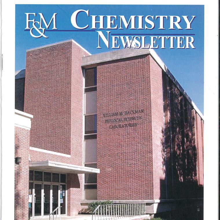 2005 Chemistry Newsletter Cover