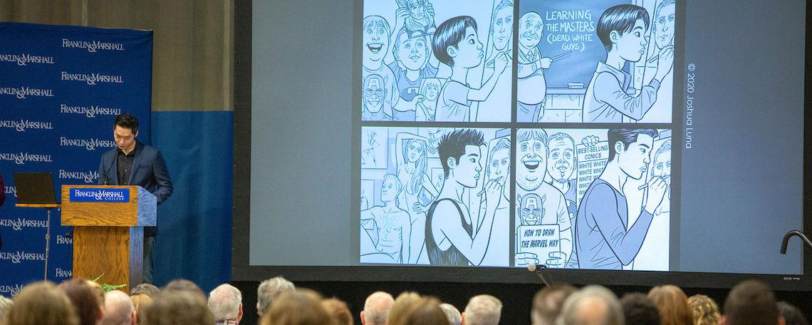 Comic-book creator Joshua Luna