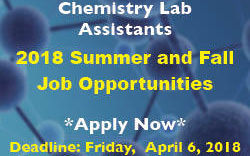 Chemistry Student Jobs - Lab Assistant Image