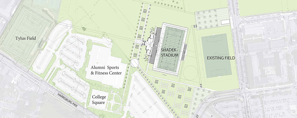 Plans for the design of North Campus.