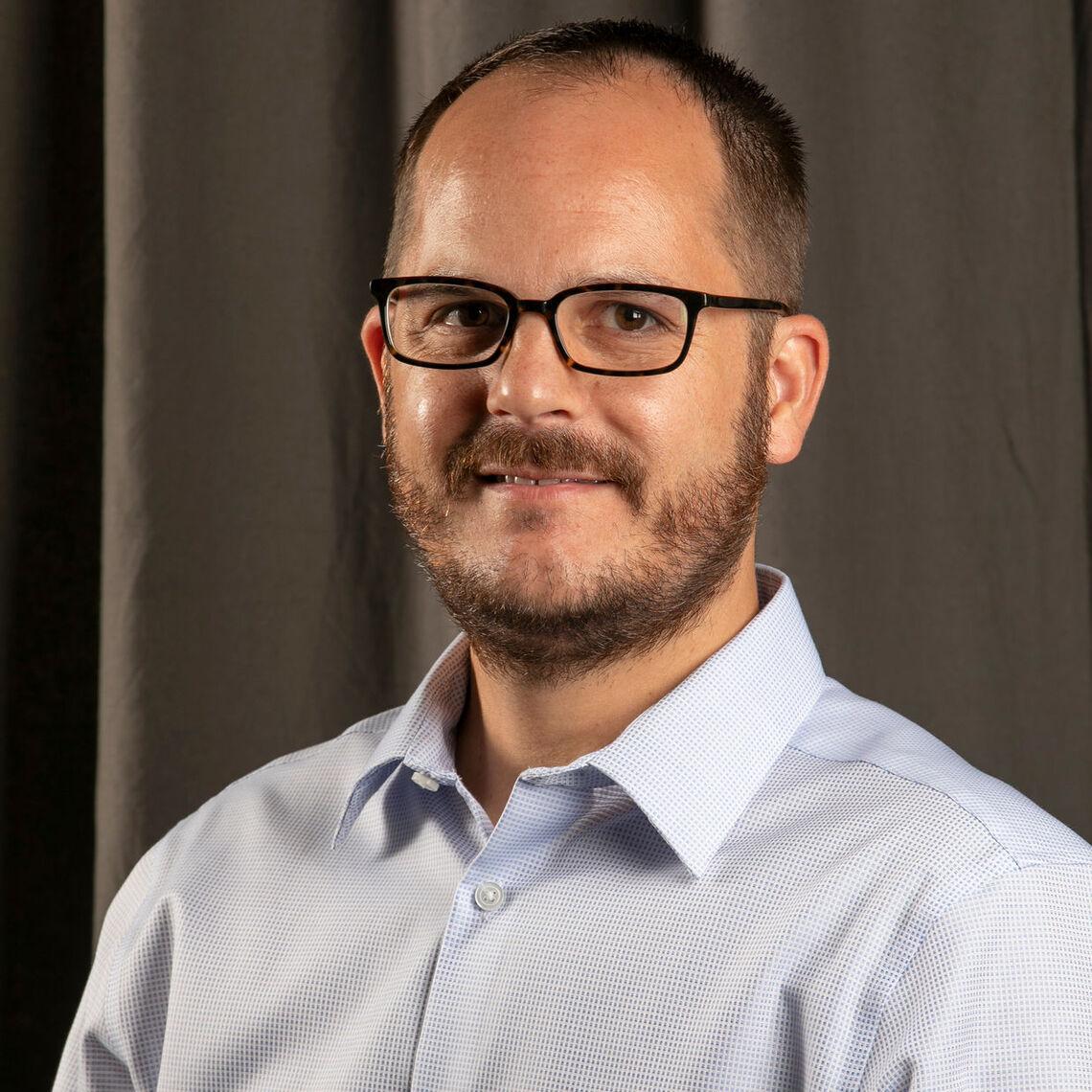 Assistant Professor of Mathematics Nicholas Baeth