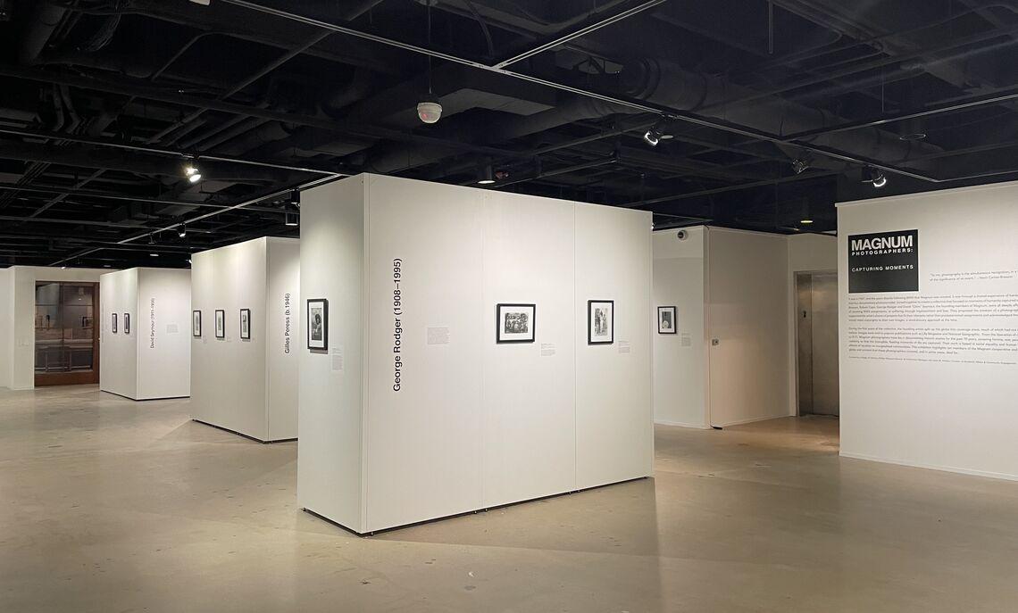 Rothman Gallery, Fall 2021. Deb Grove, F&M photographer.