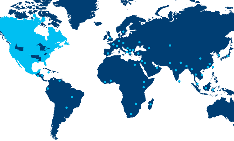 2014 class profile stats map