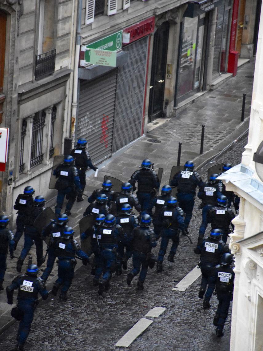 2018 Yellow Vest protests in Paris
