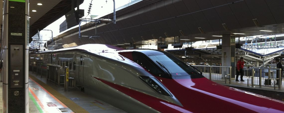 Bullet train to Tohoku