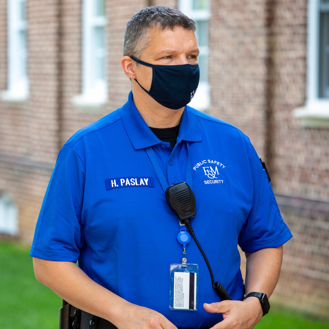 New Security Team uniform 9.3.2020