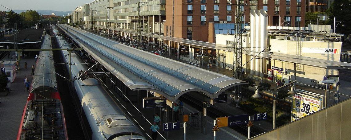 Freiburg train station