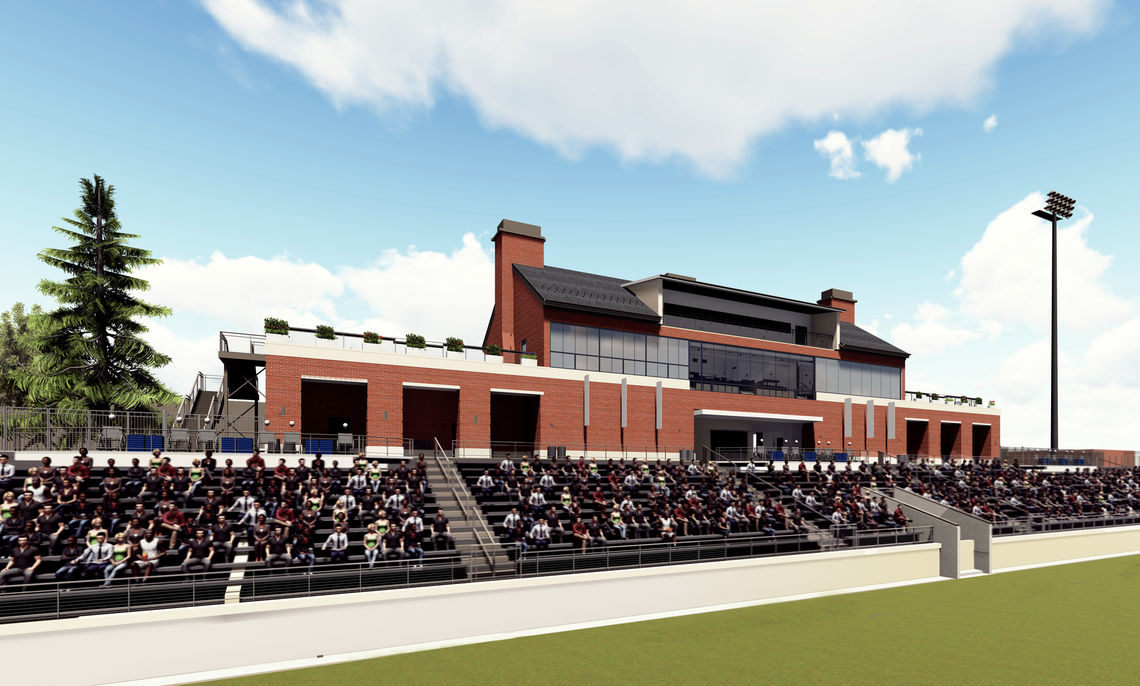 The multi-purpose stadium will seat 2,500 spectators.