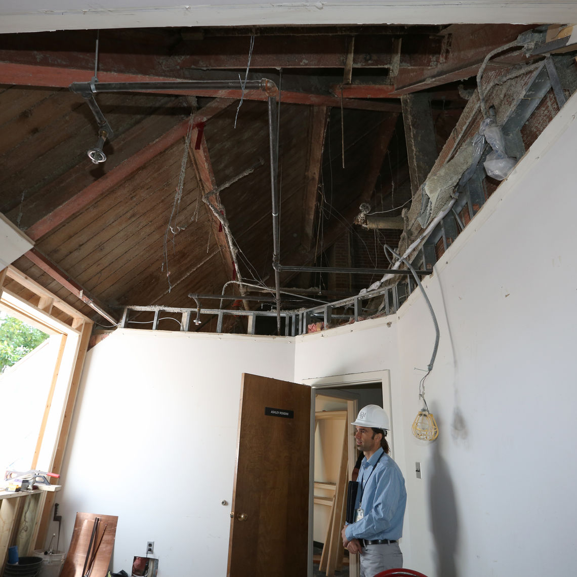 Built in the 1930s, Keiper Liberal Arts building's current renovation involves more than simple cosmetic work, The building's last significant renovation was 1980, said Assistant Director of Project Management Sheldon Wenger.