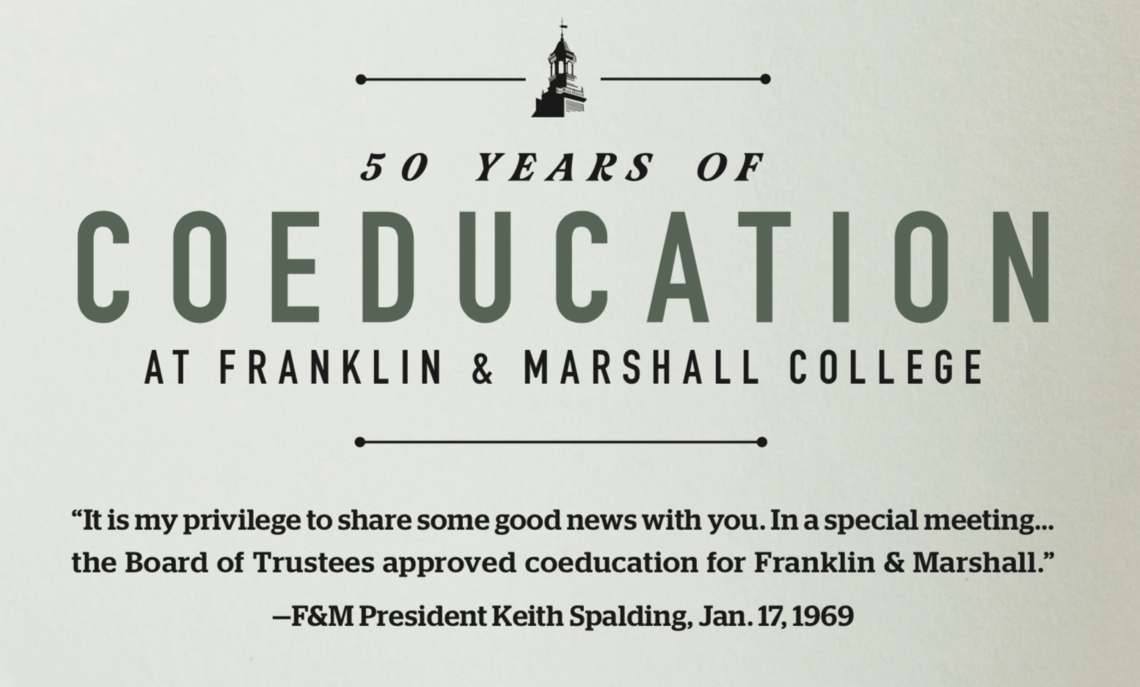 50 Years of Coeducation at Franklin & Marshall College