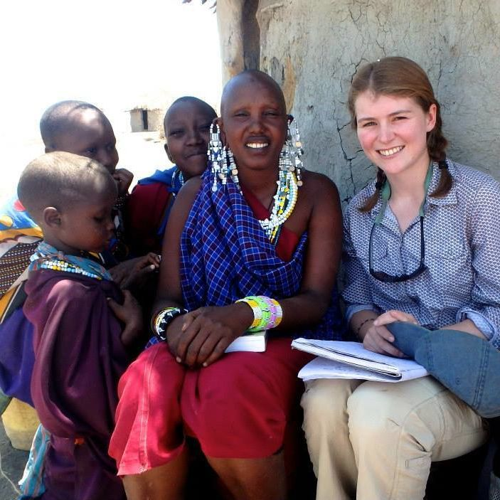 OCS 15-16 Ambassador Phoebe Walsh. SFS Kenya Fall14