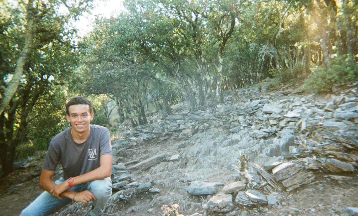 At the recommendations of his F&M anthropology professors, DeLince signed up for the summer dig in France through the Institute for Field Research,