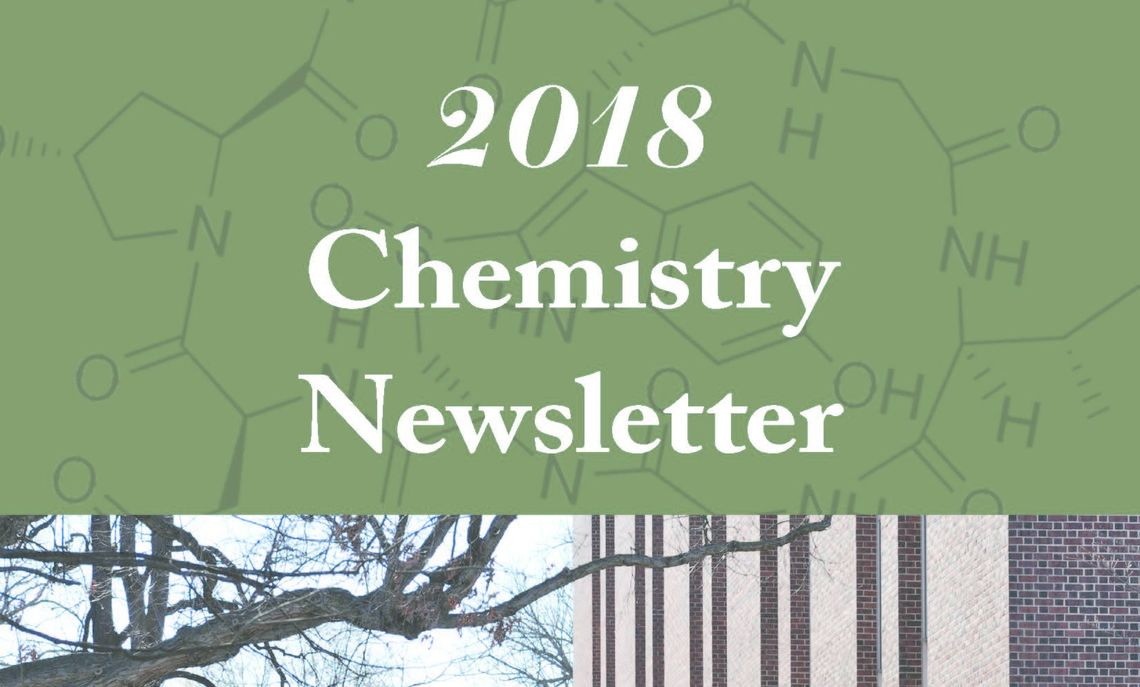 Cover image of the 2018 F&M Chemistry Newsletter