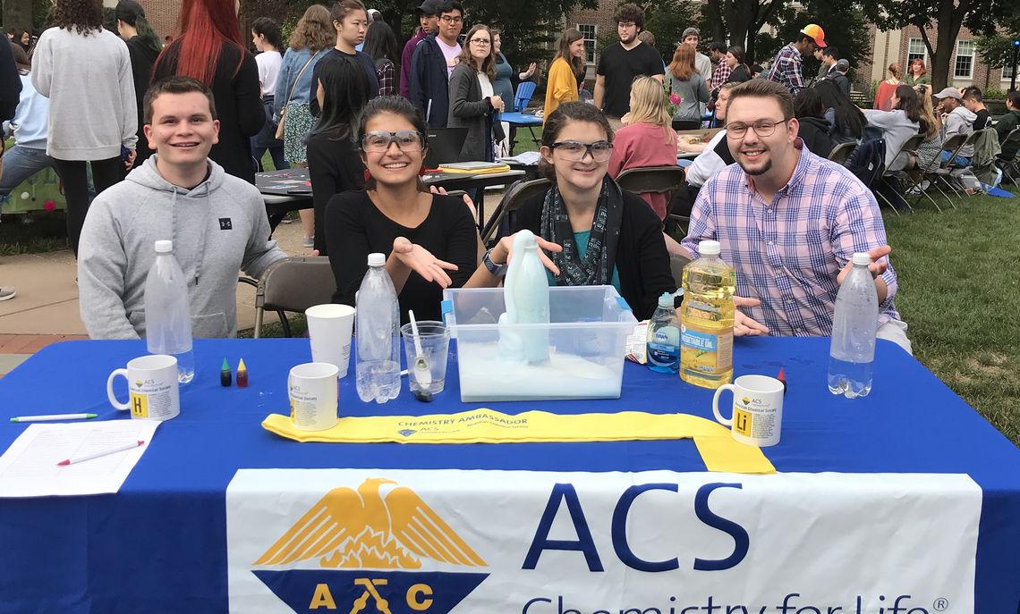 ACS - Student Affiliates Board, Fall 2019