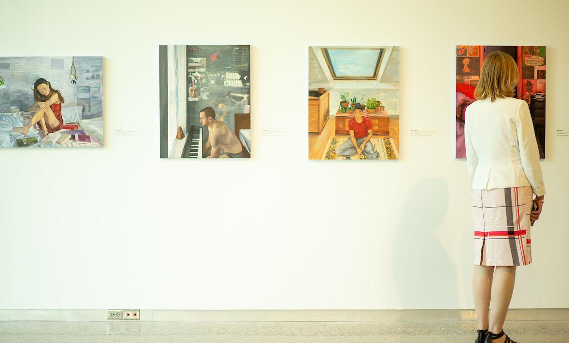 Student art showcased at the Winter Visual Arts Center