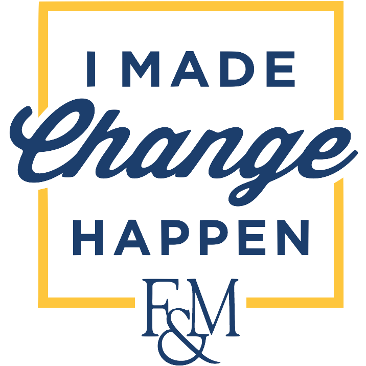 "The logo for the GOLD Month ""Make Change Happen"" Campaign during October 2017."