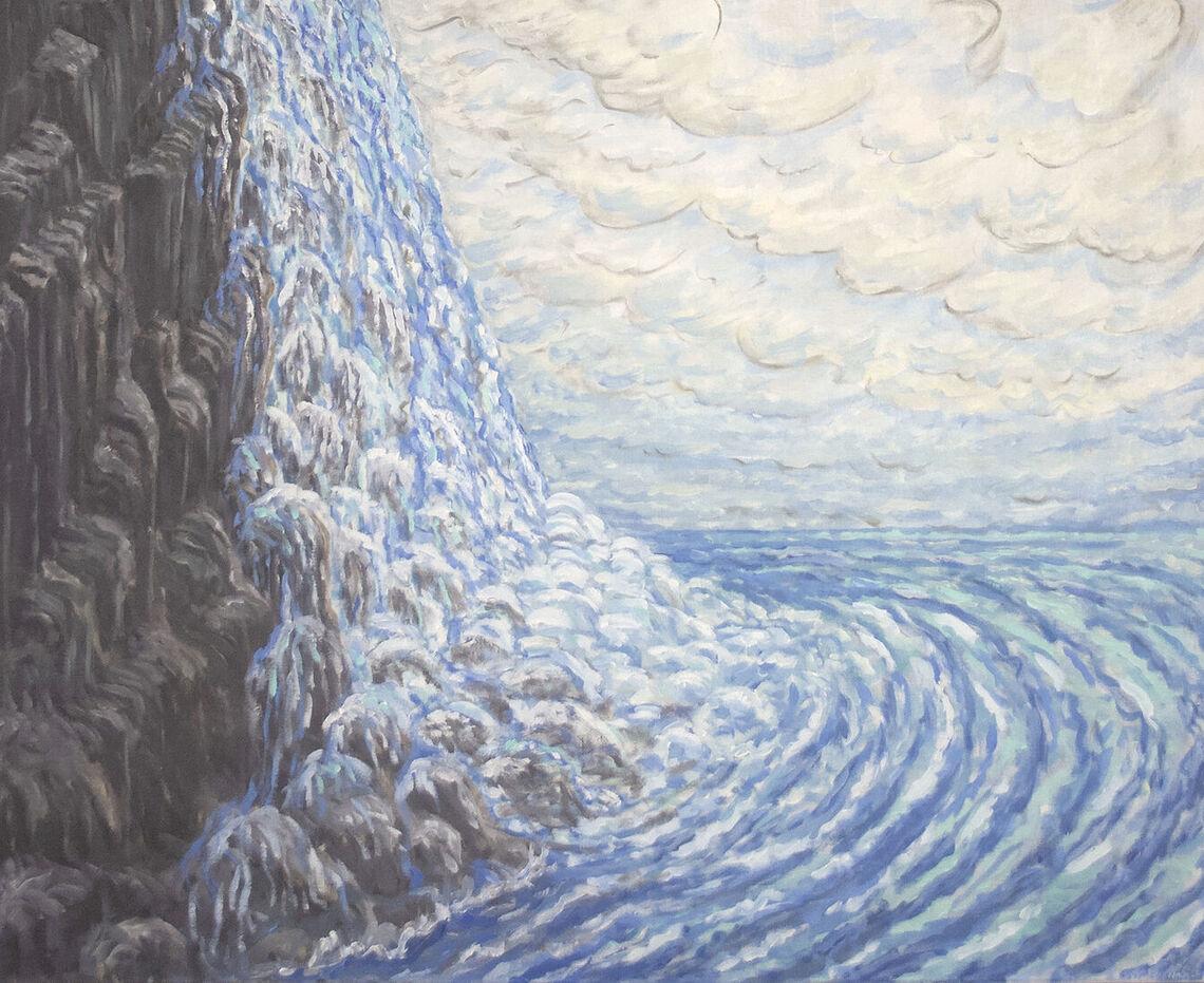 Waterfall, 1997. Francie Lyshak (American, b. 1948).