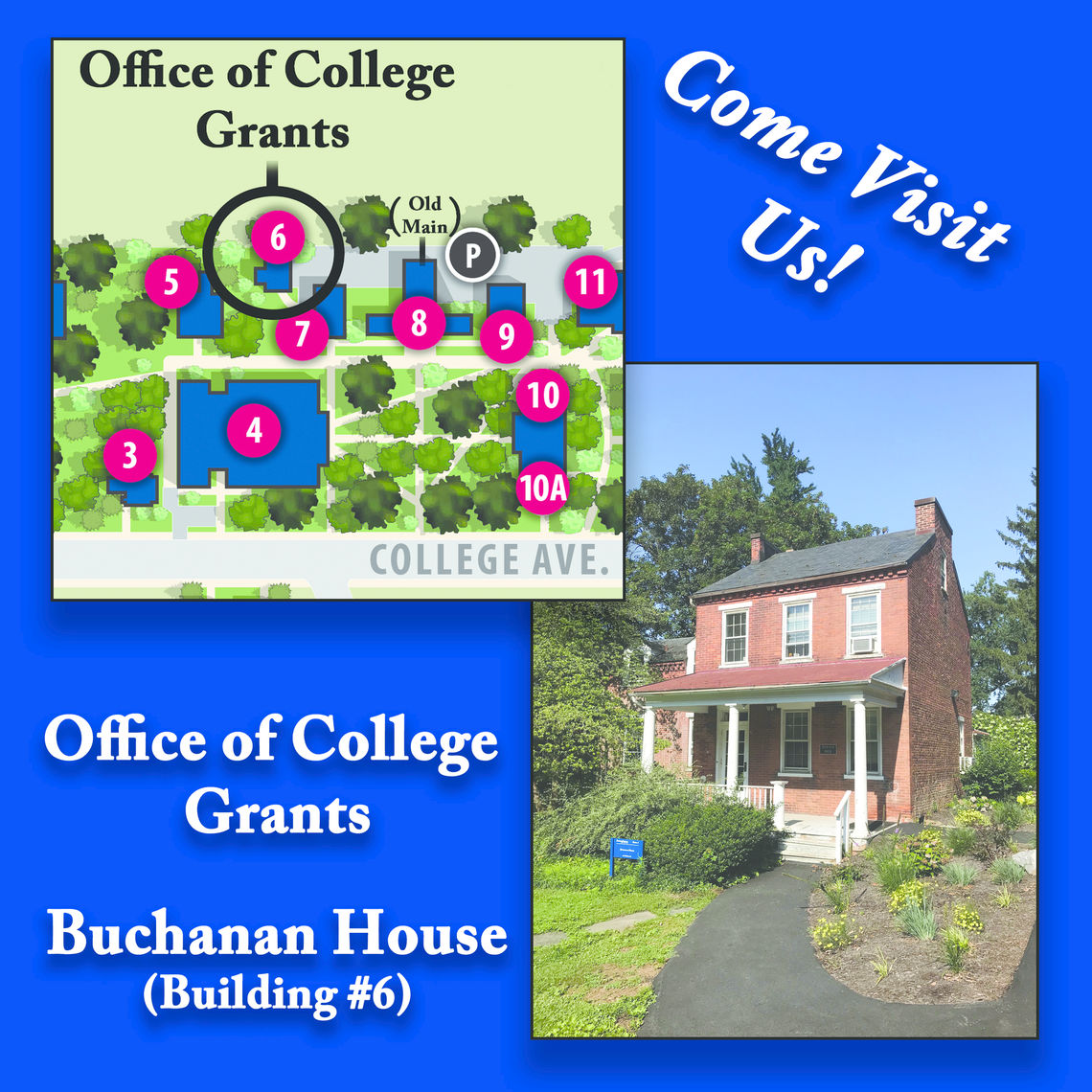 Office of Collge Grants Location