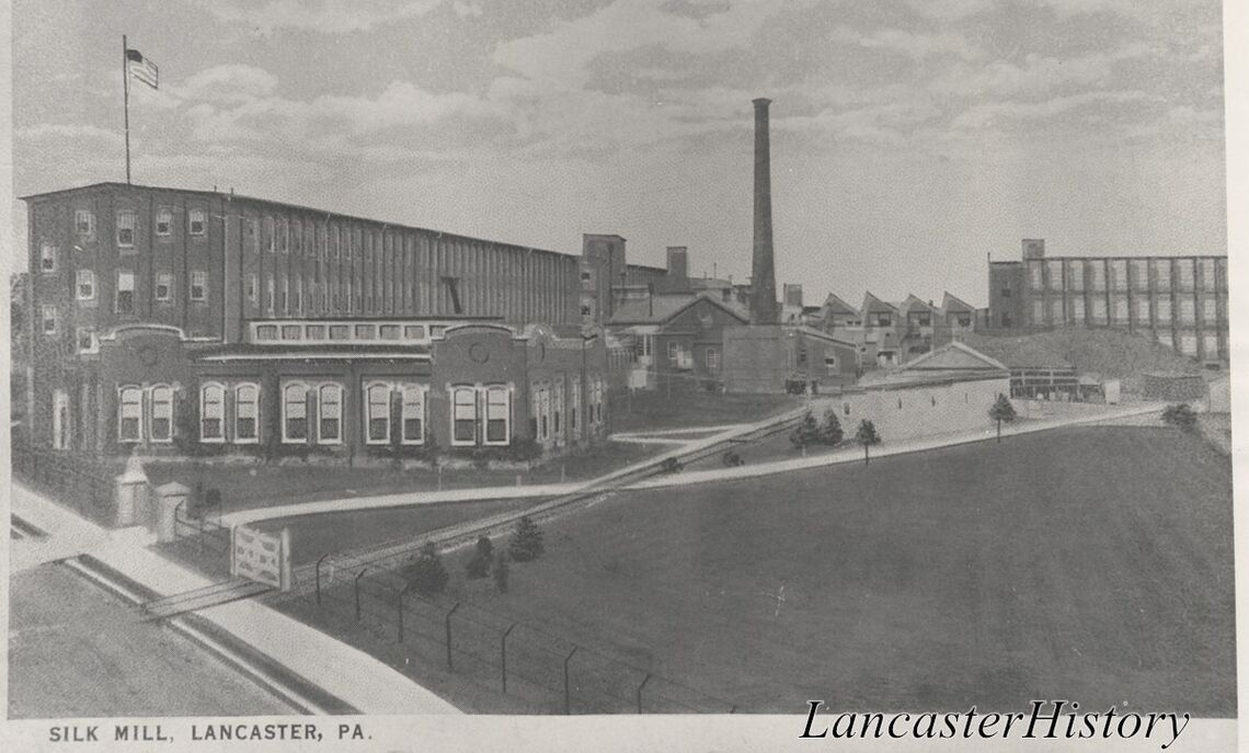 Stehli Silk Mill, located on Martha Ave. in Lancaster, Pa., less than three miles from Franklin & Marshall College