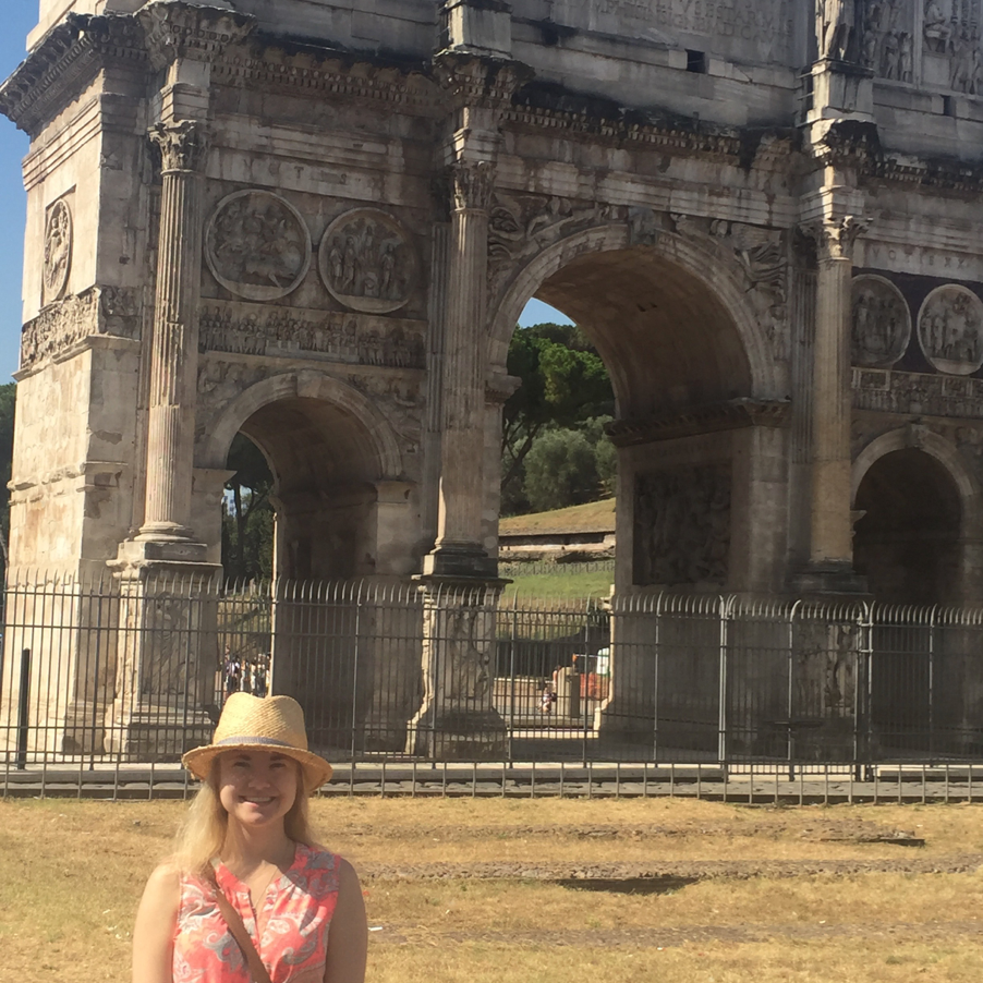 At the Arch of Titus