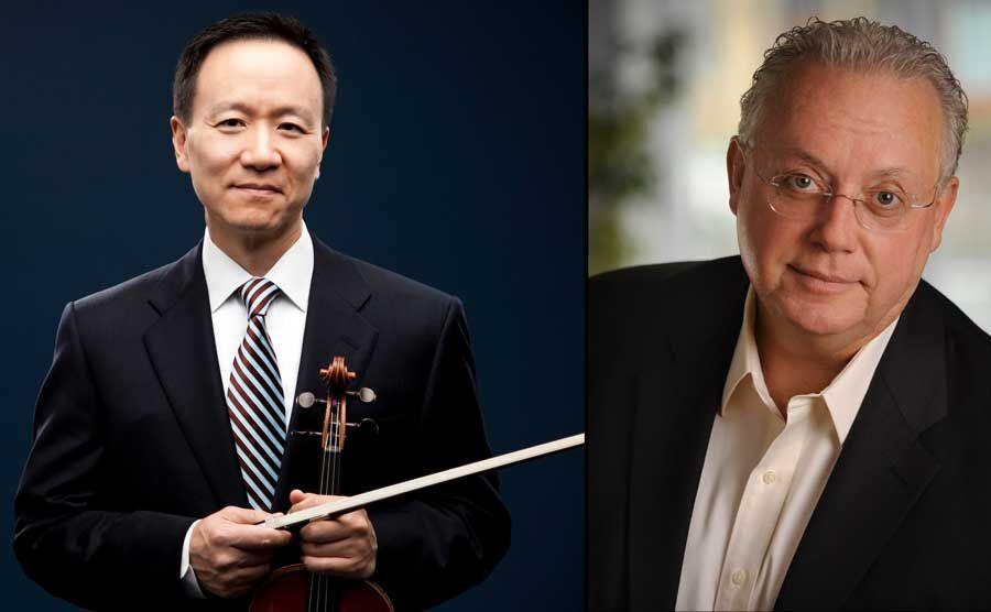 The Philadelphia Orchestra Concertmaster David Kim, with Jeffrey Uhlig