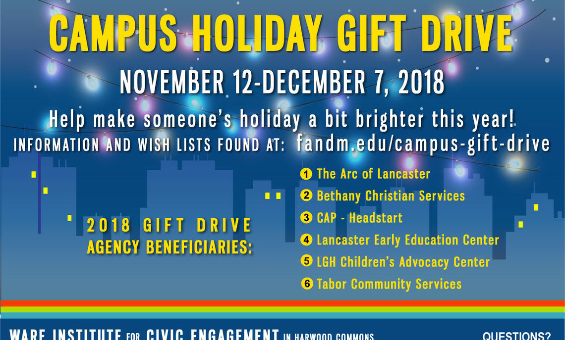 Campus Holiday Gift Drive