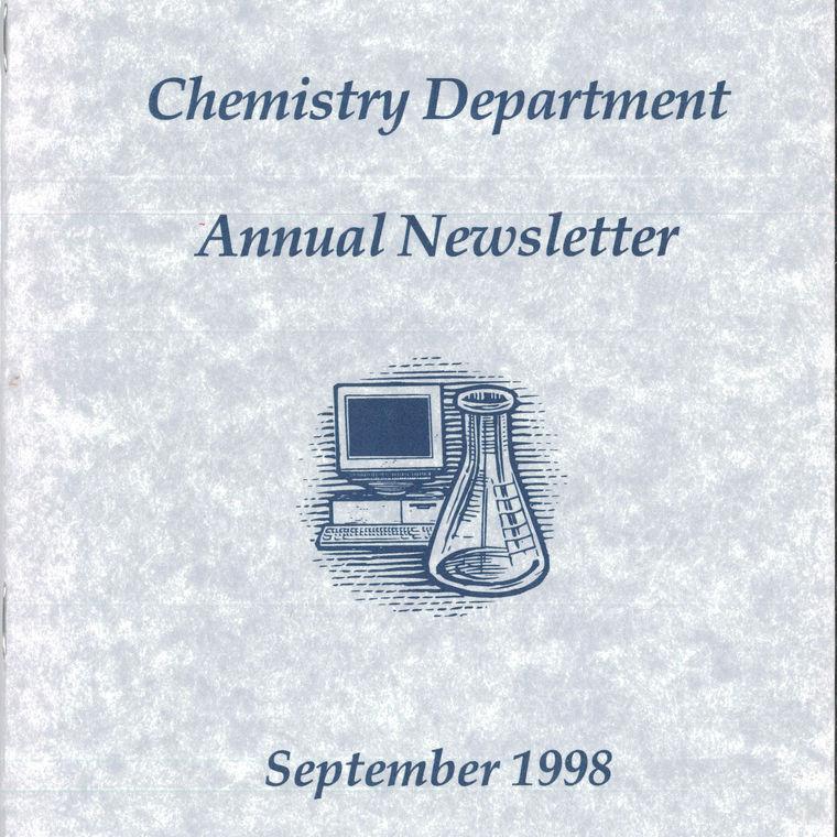 1998 Chemistry Newsletter Cover