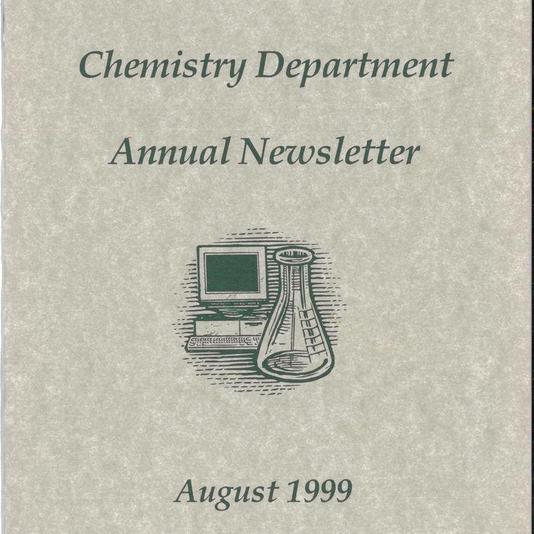 1999 Chemistry Newsletter Cover