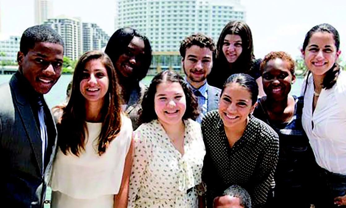 The Miami STEM Posse students, pictured at the start of their F&M experience, graduated in May.