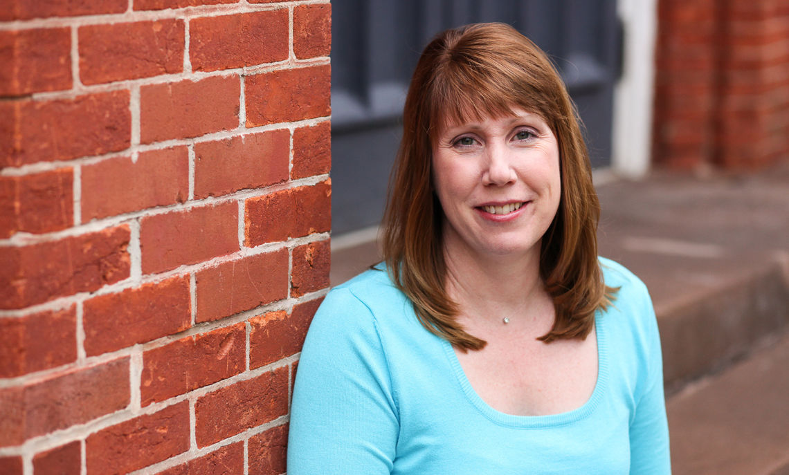As the 2015 recipient of the Richard Kneedler Distinguished Service Award, College Registrar and Associate Director of Institutional Research Christine Alexander launched a laudable career while at the same time earning two college degrees.