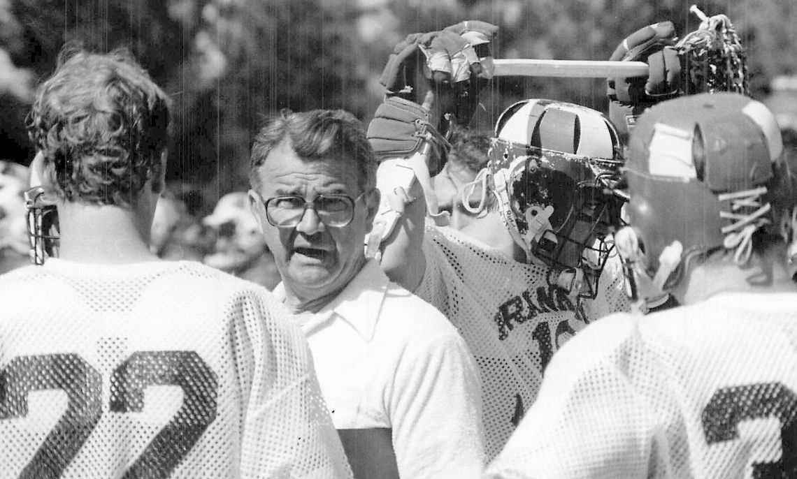 mens lacrosse: Coach Sachs, Peter Bidstrup, and Matthew Carberry