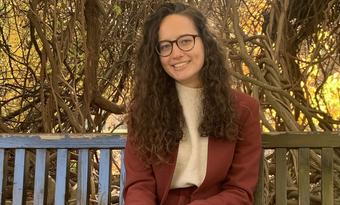 """""""I think a lot of internationals value academics the most out of their college experience,"""" said sophomore Nadezhda Ivanova, of Bulgaria."""