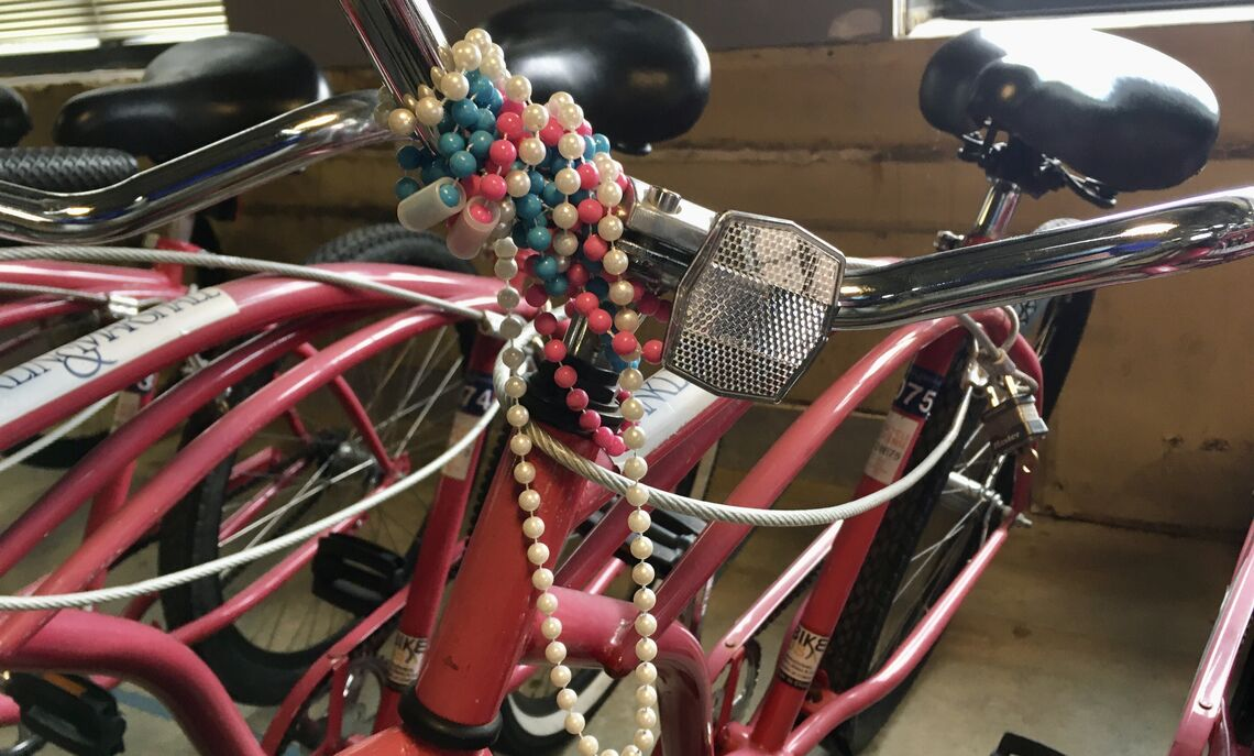 Glory's bike beads