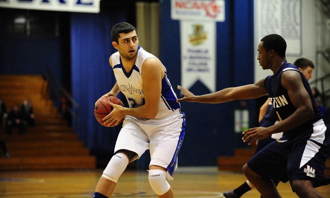 While at F&M, Gyokchyan was named to the 2013 National Association of Basketball Coaches (NABC) Division III All-America Third Team, NABC Middle Atlantic All-Region First Team, and the D3hoops.com Middle Atlantic Region Second Team. He also earned Centennial Conference (CC) Player of the Year and a spot on the All-CC First Team.