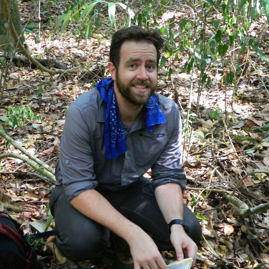 Excavating in the jungles of Belize