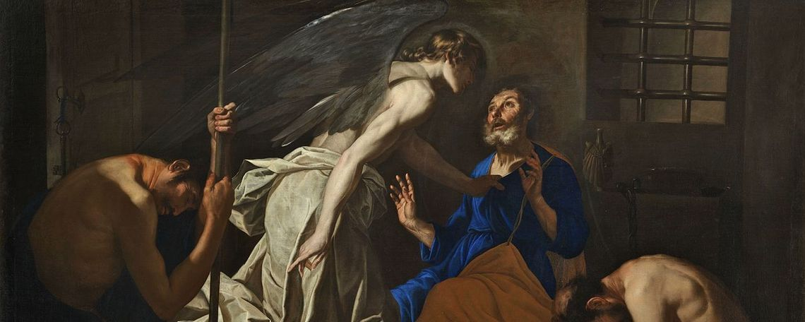 The liberation of St. Peter.