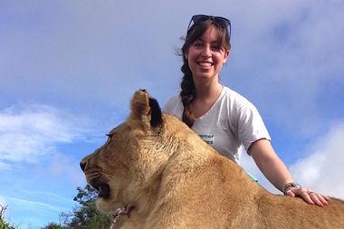 Sarah Rothman at Antelope Park