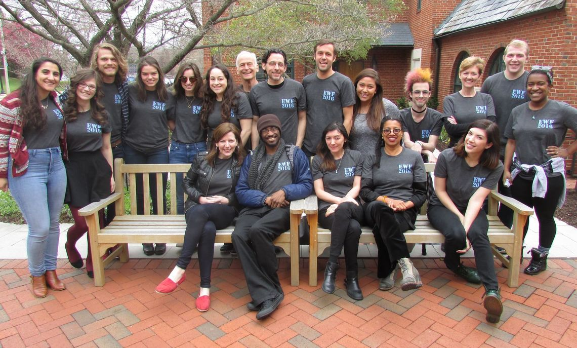 The 2016 Emerging Writers Fest crew! 4/8/16