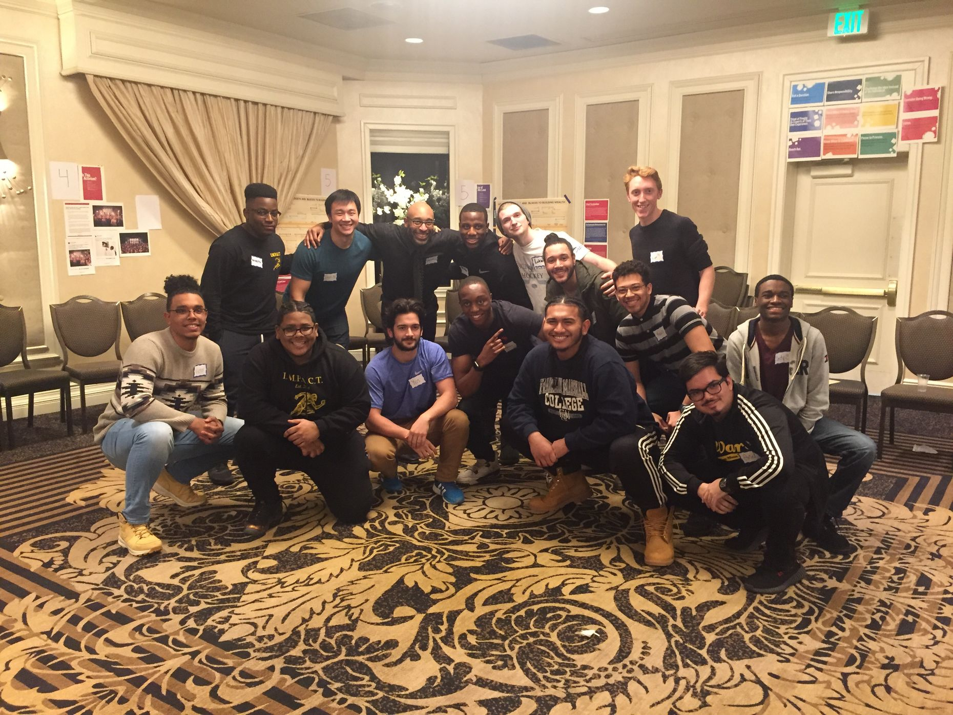 Impact brothers at 2018 Posse Plus Retreat