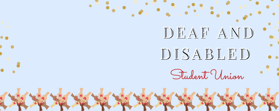 Deaf and disabled student union marquee updated 2020