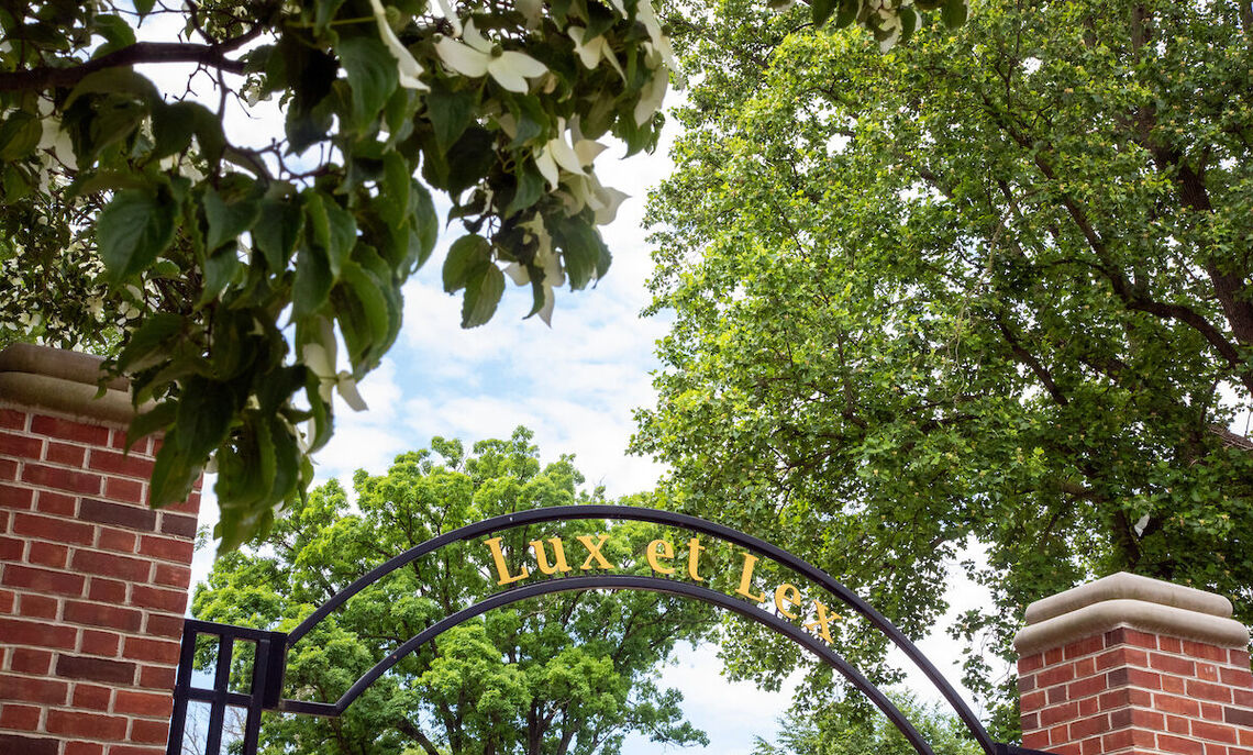 Lux et Lex arch at F&M,