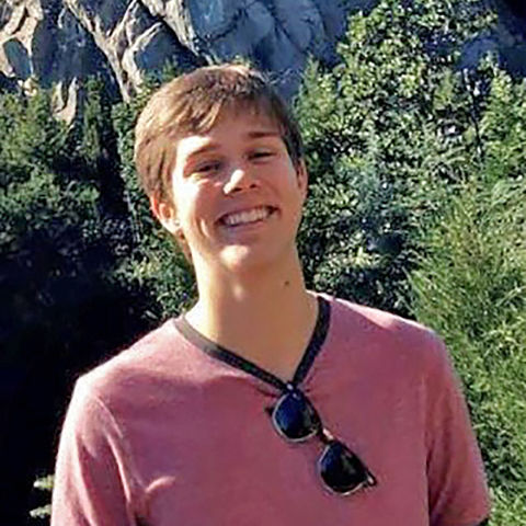 The 2020 Alice and Ray Drum British Isles Summer Travel Award winner is Tristan Steffe '22.