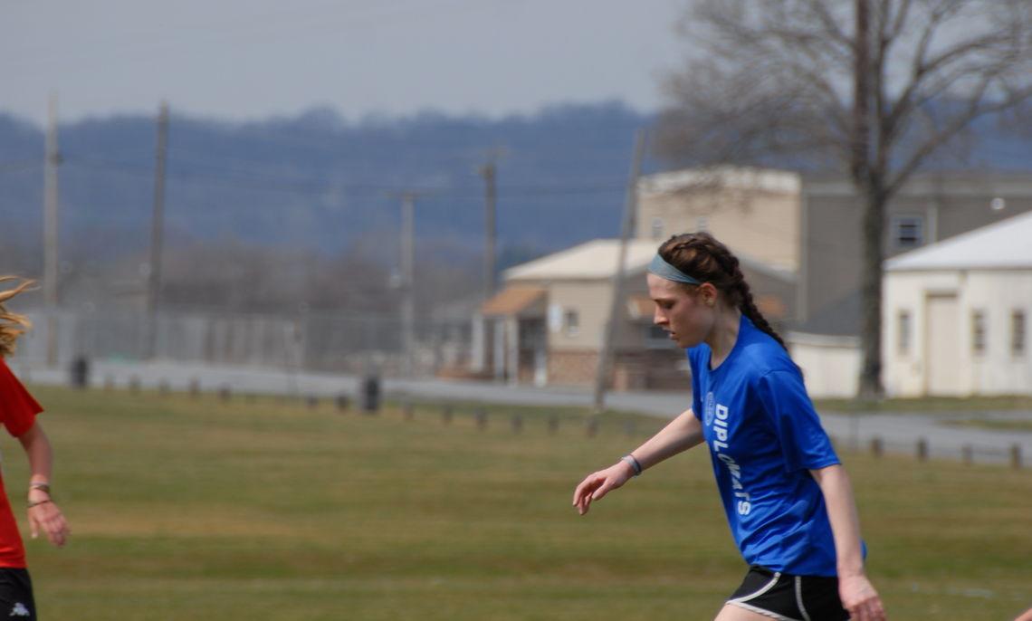 Women's club soccer game versus Haverford