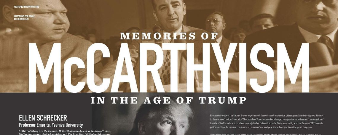 Memories of McCarthyism Poster